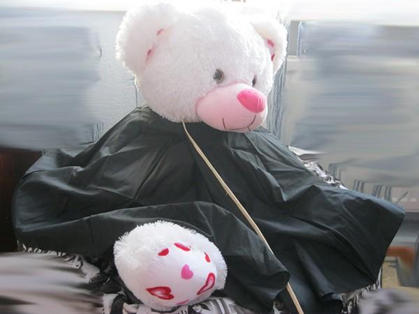 готовая накидка для стрижки волос своими руками из зонта