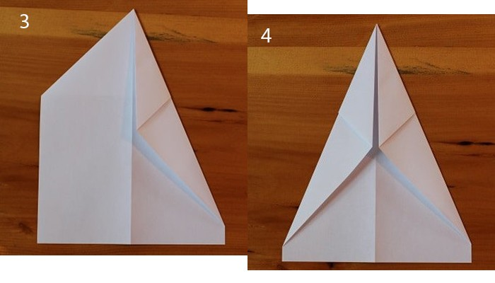 рис 3 и рис 4 смолетик из бумаги Бульдлжик