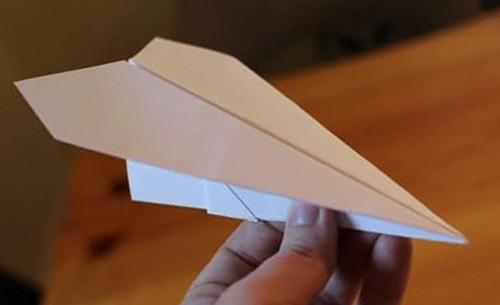 самолетик из бумаги Орленок