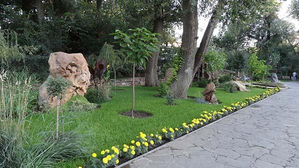 ландшафтный дизайн в парке Лога