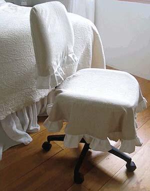 Чехол на стул со спинкой своими руками - выкройки плюс фантазия