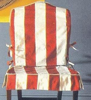 резные спинки стульев