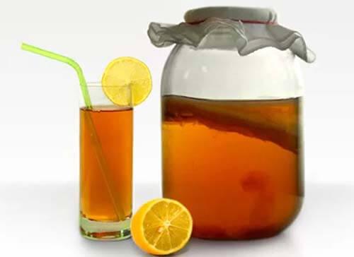 готовый чайный напиток - комбуча