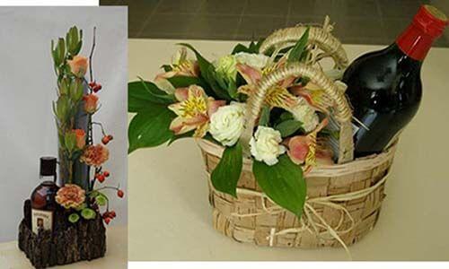 цветочные наборы для мужских букетов