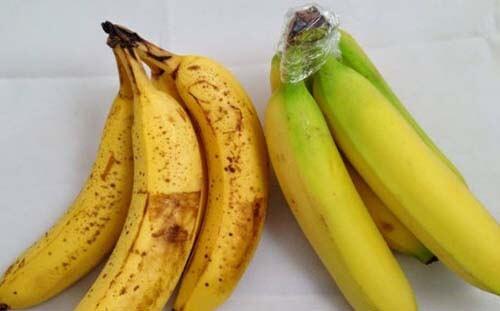 какие бананы вкуснее - с черными пятнышками или зеленые