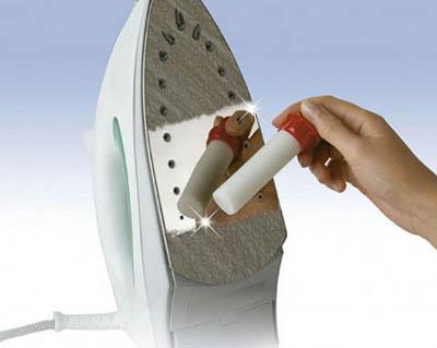 Эффективное средство для чистки утюгов