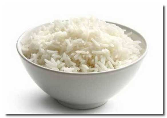 рисом выводят отложения солей